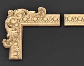 Frame Relief 6 3D STL model decor