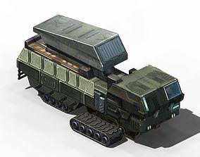 Missile-transportation vehicle 03 3D model
