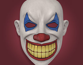 3D asset Clown Mask