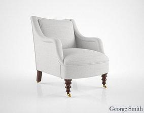 George Smith Fairhill chair 3D