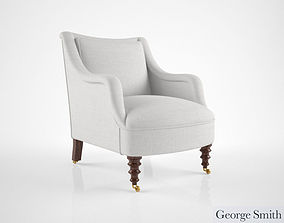 George Smith Fairhill chair 3D