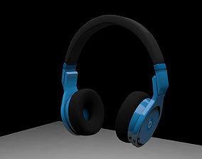 BEATS HEADPHONES FOLDABLE 3D asset rigged