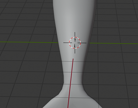 Mermaid Tail 3D asset animated