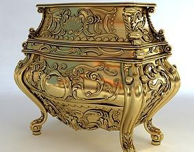 3D model Baroque Cornelio Cappellini Bombe Chest