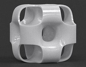 Ported Cube Sculpture 3D print model