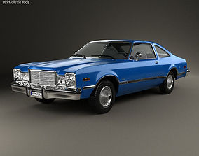 Plymouth Volare coupe 1977 3D