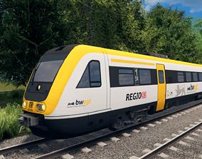 Deutsche Bahn BR 612 Bwegt 3D asset