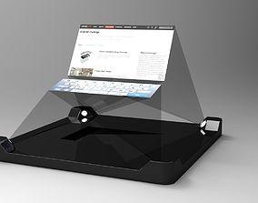 iPhone 5 3D HUD Projector