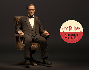 3D print model The Stylize Godfather Firgure character