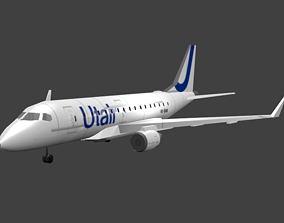 3D model Embraer E170