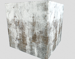 Old concrete textures pack 12 3D model