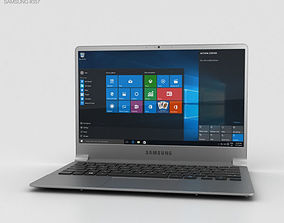 3D Samsung Notebook 9 Iron Silver
