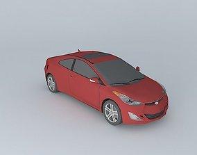 3D model 2013 Hyundai Elantra Coupe