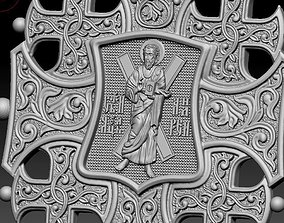 3D printable model Cross 20 brooch