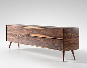 3D model Mid Century Sideboard 02