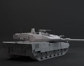 leopard 2a7 hpoly 3D model