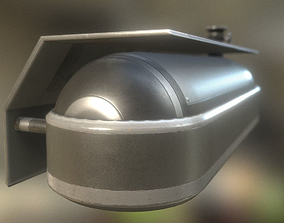 Fuel Tank Basic Version 3D model