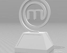 Masterchef trophy decoration 3D print model