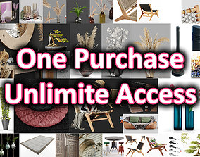 Hemase MegaPack - One purchase unlimited access 3D