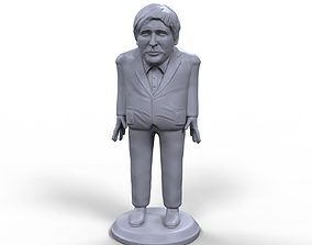 Boris Johnson stylized high quality 3D printable