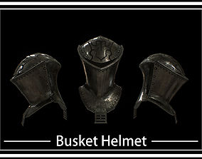 HIE Medieval Knight Helmet D190108 3D model