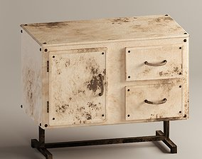3D model Old Chest of drawers