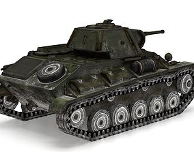 T-70 light tank 3D model