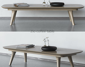 Zio Coffee Table 3D coffee