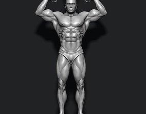 3D printable model Bodybuilder pendant bodybuilding