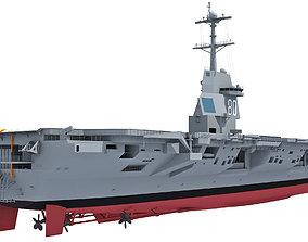 3D USS Enterprise CVN-80 Aircraft Carrier