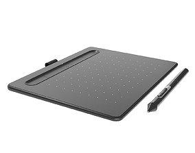 Graphics tablet 3D model