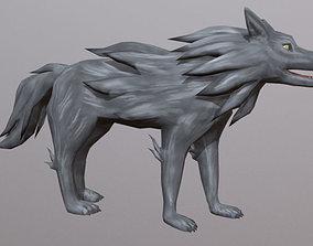 3D model Dracon85 Toon Wolf