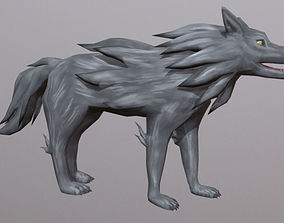3D model Dracon85 Toon Wolf