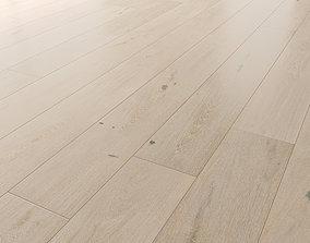Wood floor Oak Merletto Brushed 3D model