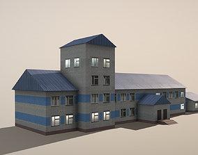 Airport USDU Terminal 3D asset