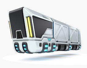 Hover truck 03 3D