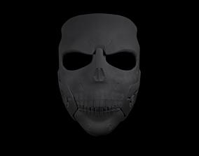 Skull Mask 3D print model venetian