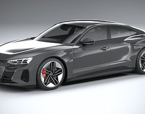 Audi RS e-tron GT 2022 3D model