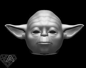 Star Wars Yoda helmet 3D print model