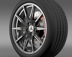 Mercedes Benz AMG GT wheel 3D model