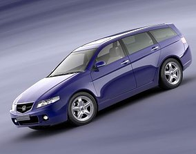 3D Honda Accord Tourer 2004