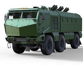 Kamaz Typhoon Truck 3D model