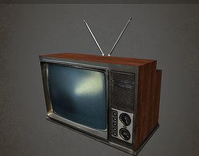VintageTV 3D asset