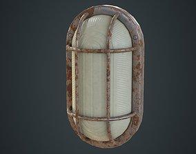 3D model Bulkhead Light 1D