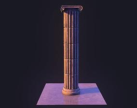 Column 3D asset VR / AR ready
