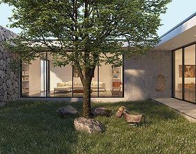 Courtyard House 3D