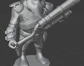 Dota 2 - Sniper Chess Figure 3D print model