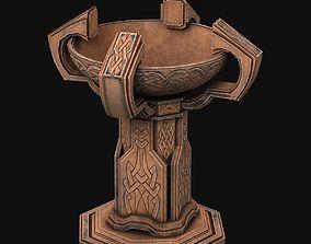 3D Fantasy candlestick