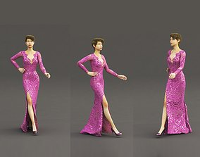 Dress 3ds max and Vray