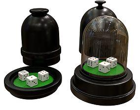3D asset dice cup